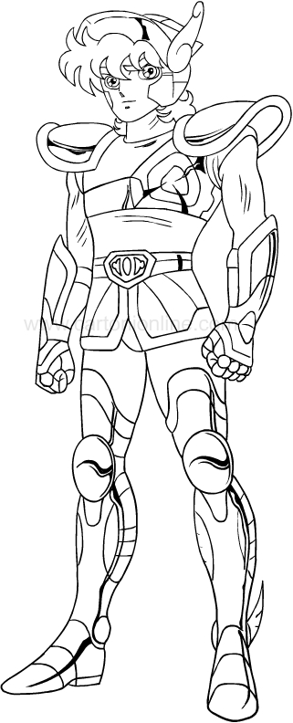 Desenho dos Cavaleiros do Zod aco para impress oe colorir