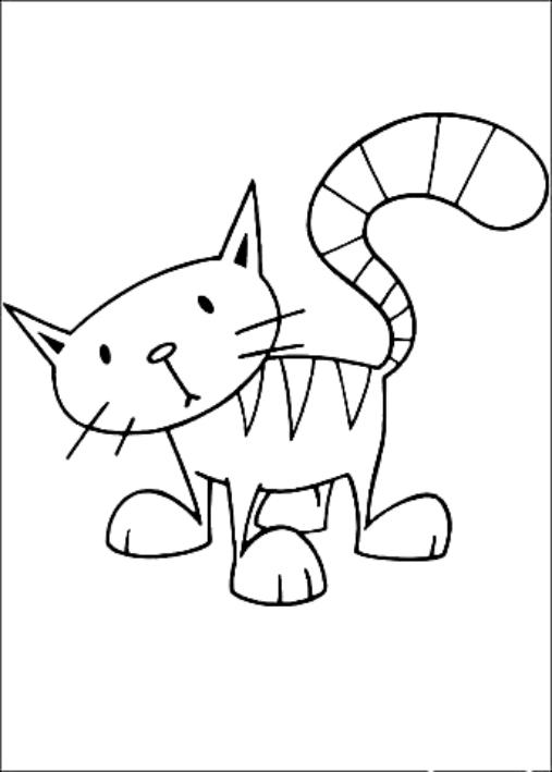 Dibujos de Alice el gato de Bob el constructor para colorear