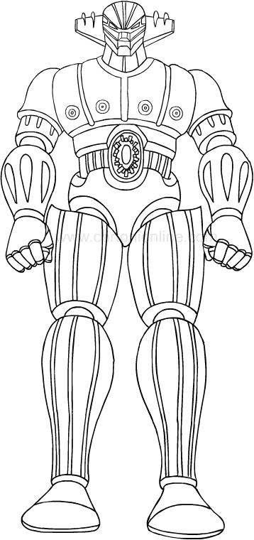 Dibujo de El Vengador (Kotetsu Jeeg) 임페리얼 미어 컬러 컬러
