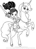 Dibujos De Nella Una Princesa Valiente Para Colorear