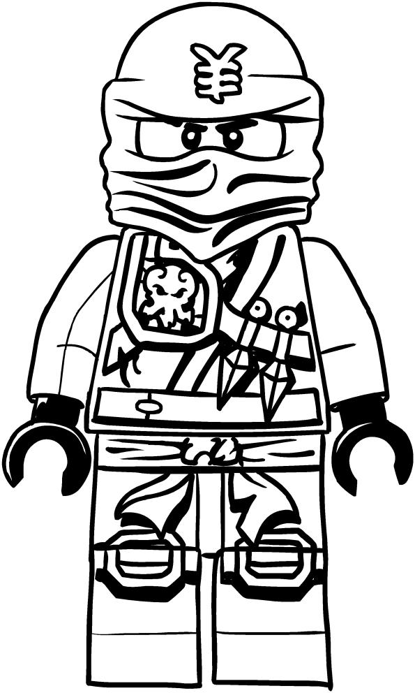 Dibujo de Jai de los Ninjago para colorear