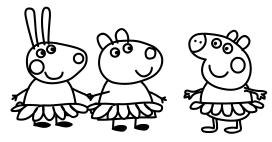 Dibujos De Peppa Pig Para Colorear