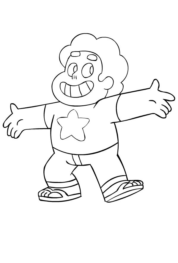 Dibujos de Steven Universe para