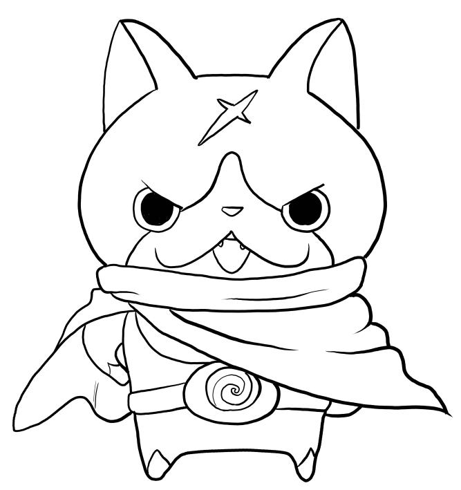 Dibujo de Hovernyan de Yo-Kai Watch para colorear