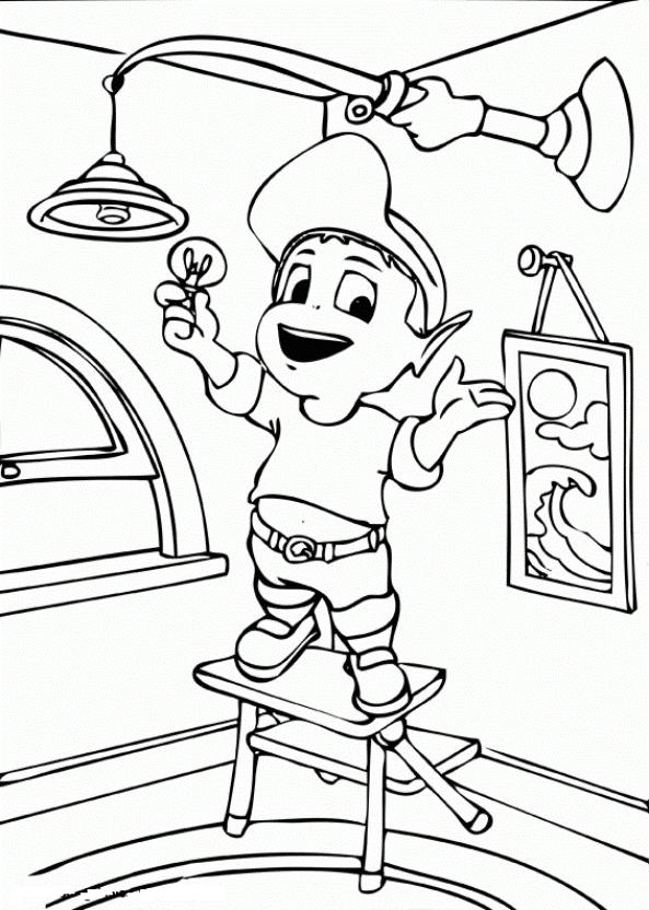 Раскраска по энергосбережению распечатать