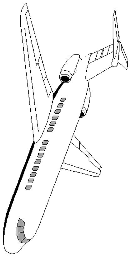 Kolorowanki 2 Samoloty