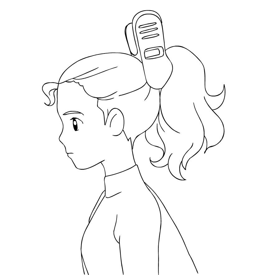 Disegno 2 di Arrietty da stampare e colorare
