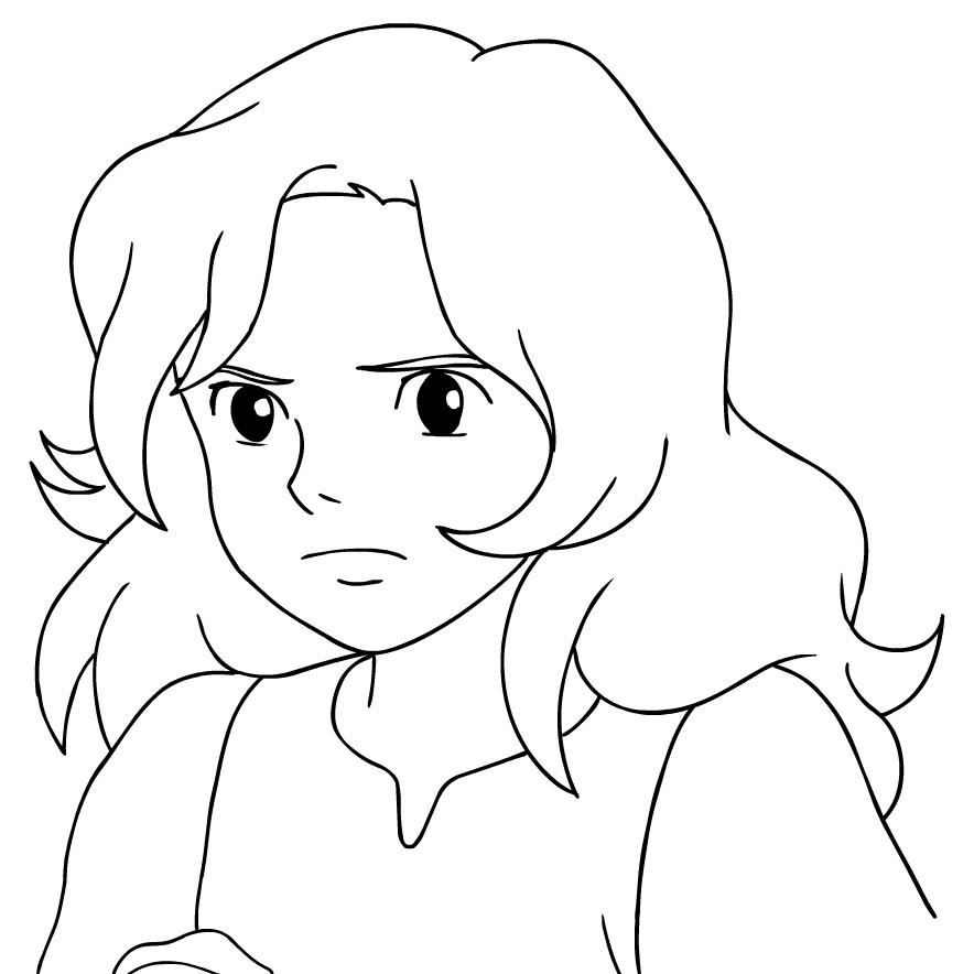 Disegno 6 di Arrietty da stampare e colorare