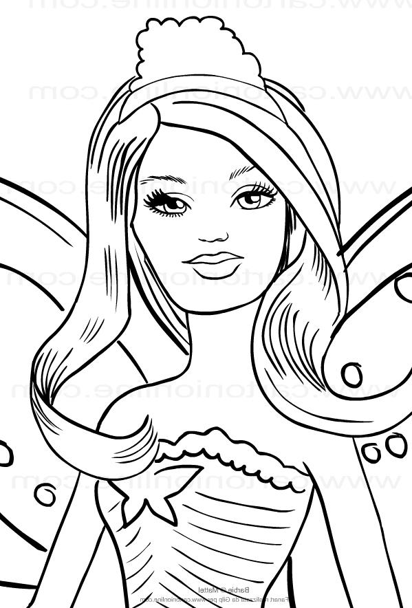 Dibujo 17 바비 마리포사 파라 임 프리미어 컬러 컬러
