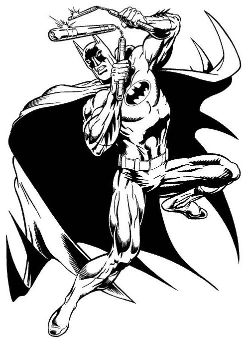 Dibujo 5 De Batman Para Colorear