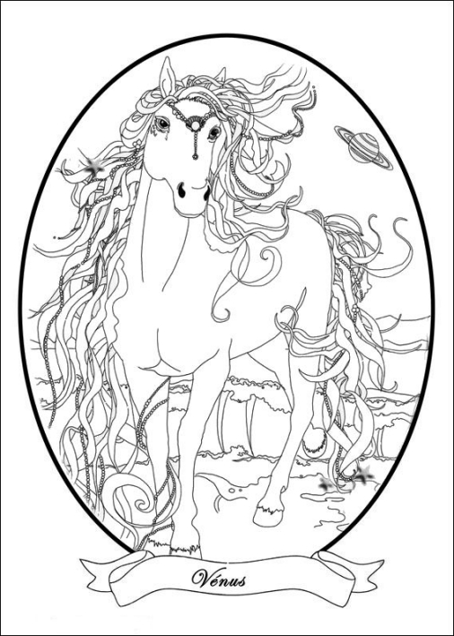 Bella Sara coloring pages on Coloring-Book.info | 709x506
