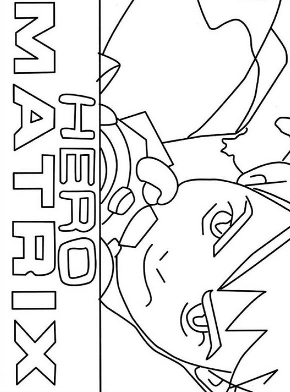 Desenho 8 De Ben 10 Para Colorir