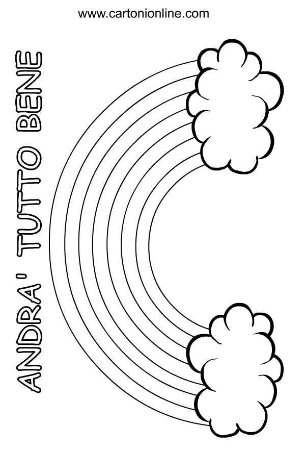 Desenho 4 All right de Coronavirus para imprimir and colorir