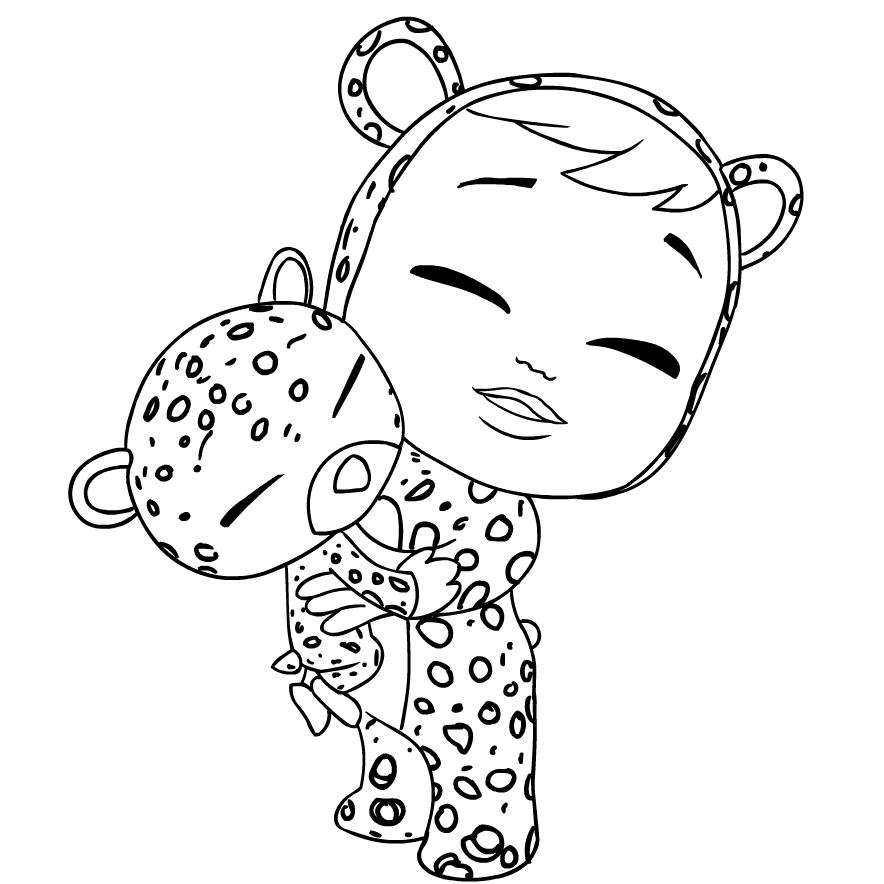Disegno 1 Di Cry Babies Da Colorare