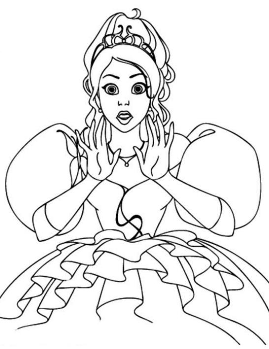 Dibujo 1 De Encantada La Historia De Giselle Para Colorear
