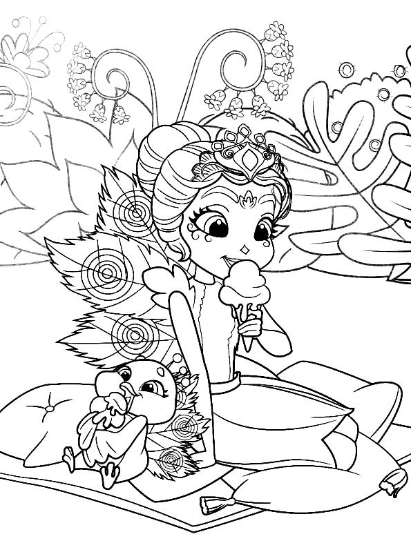 Coloriage 16 des Enchantimals   imprimer en colorier