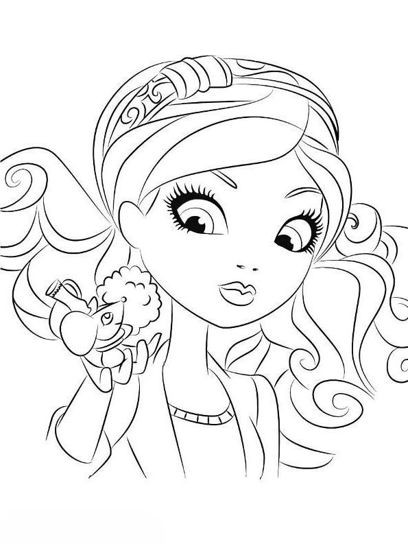 Desenho 23 De Ever After High Para Colorir