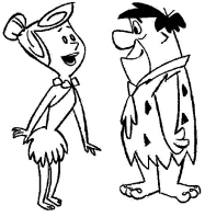 Desenhos De Os Flintstones Para Colorir