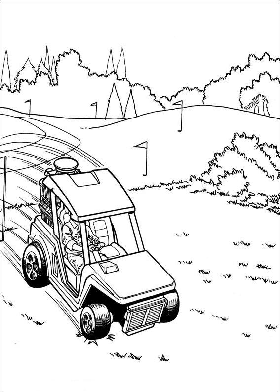 Dibujo 3 De Hot Wheels Para Colorear