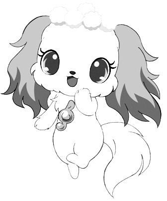 Drawing 8 from Jewelpet coloring page to print and coloring