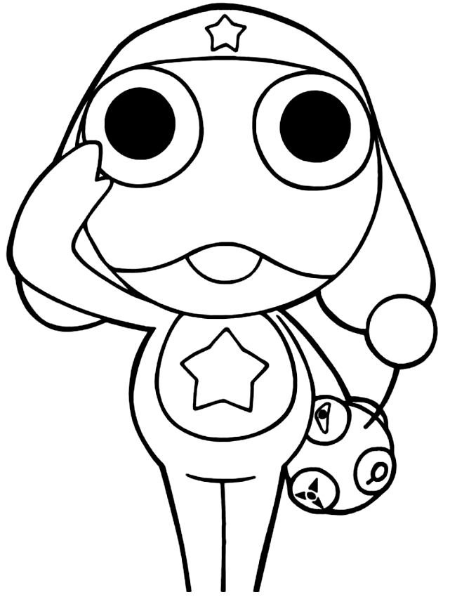 Drawing 1 from Keroro coloring page to print and coloring