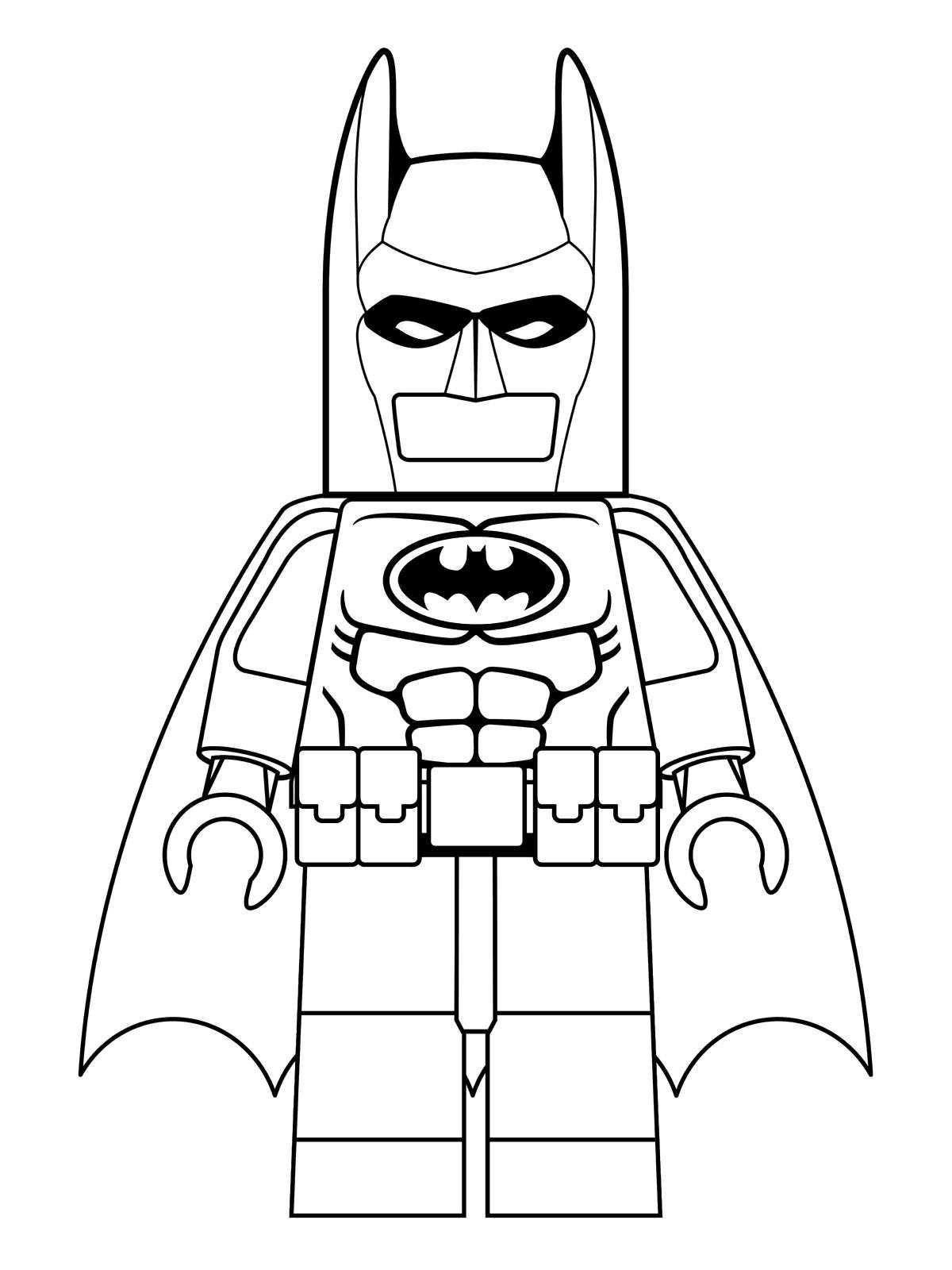 Disegno 1 Di Lego Batman Da Colorare