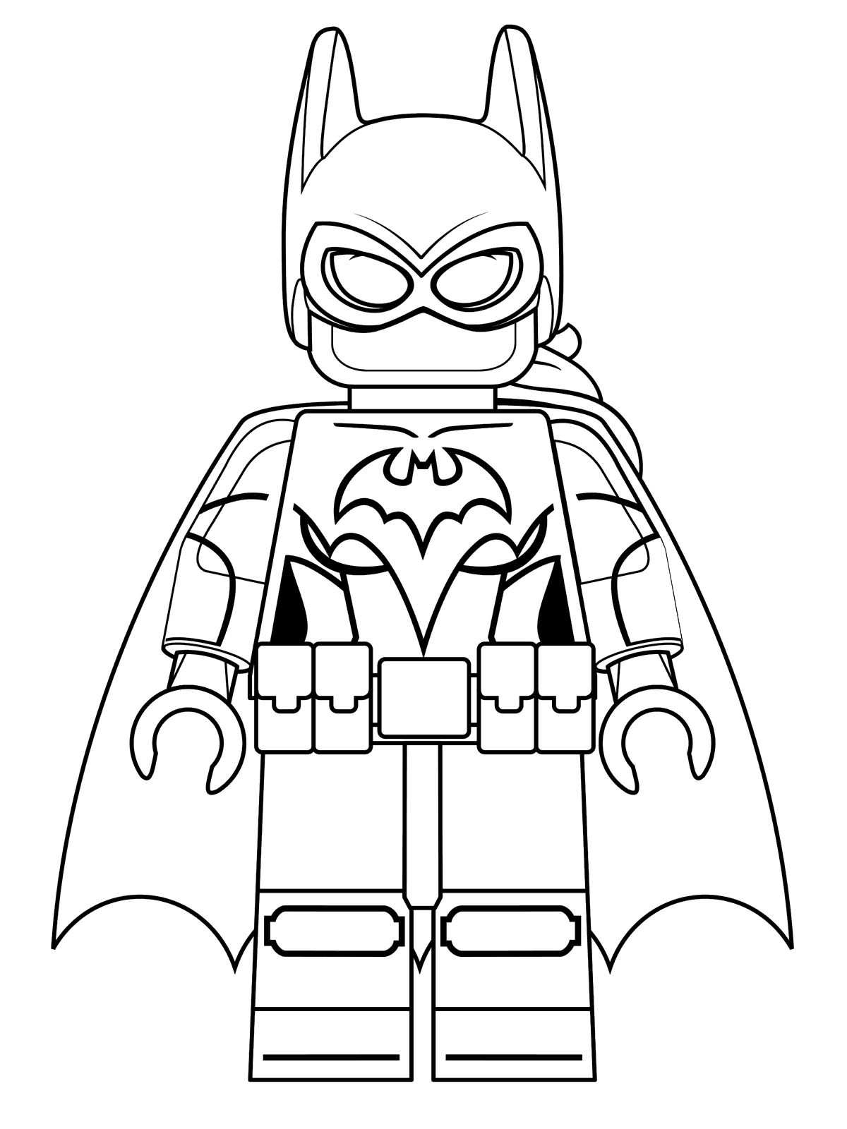 Disegno 2 Di Lego Batman Da Colorare