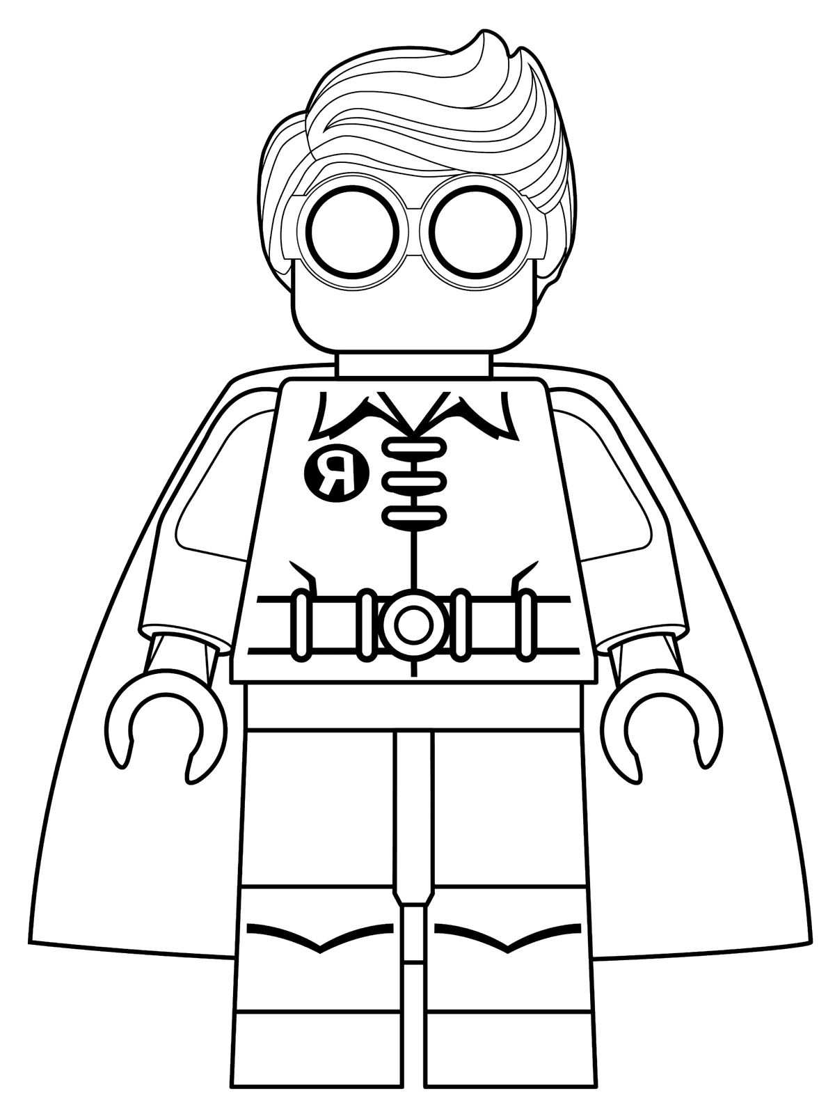Desenho De Lego Batman Para Colorir