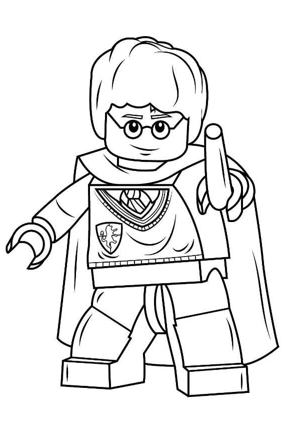 Ausmalbilder 5 Lego Harry Potter