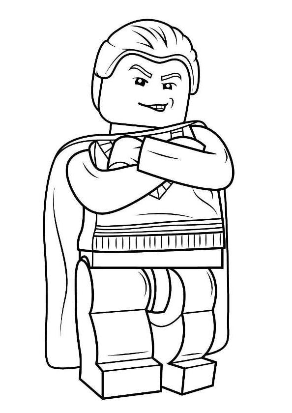 Populaire De Coloriage A Imprimer Lego Harry Potter