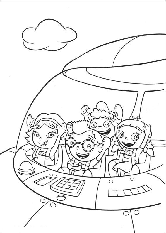 Little Einsteins   coloring page to print and coloring - Drawing 1