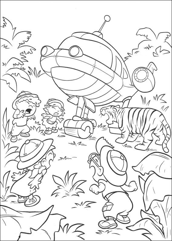 Little Einsteins coloring page - Drawing 2