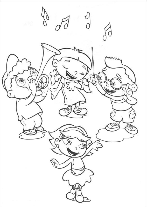 Little Einsteins coloring page - Drawing 5