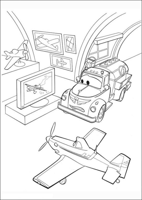 Dibujo 2 de Planes 파라 임 페리 미르 컬러 컬러