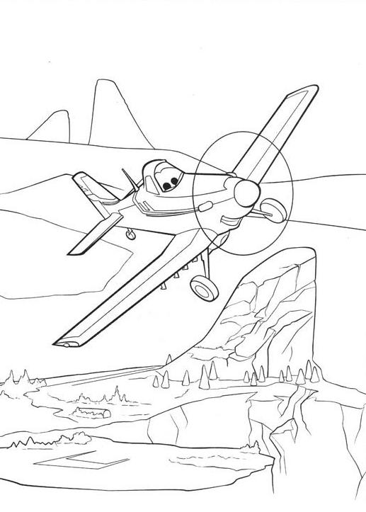 Dibujo 5 de Planes 파라 임 페리 미르 컬러 컬러