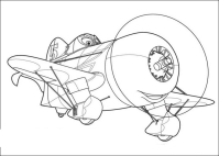 Ausmalbilder Planes