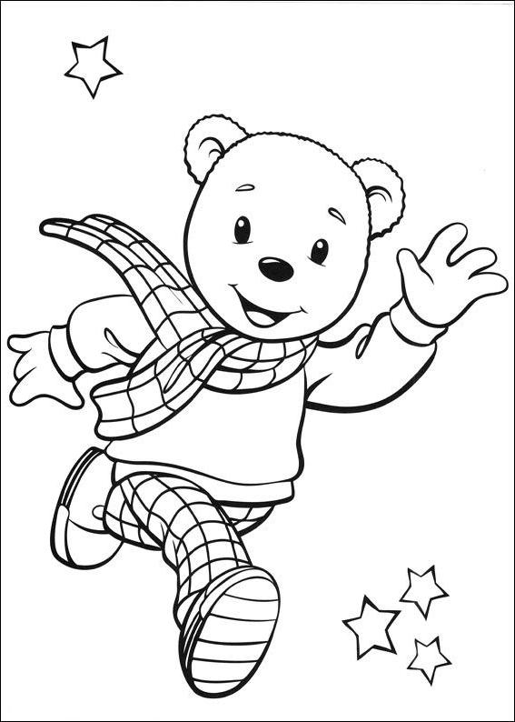 Dibujo 1 De Rupert Bear Para Colorear