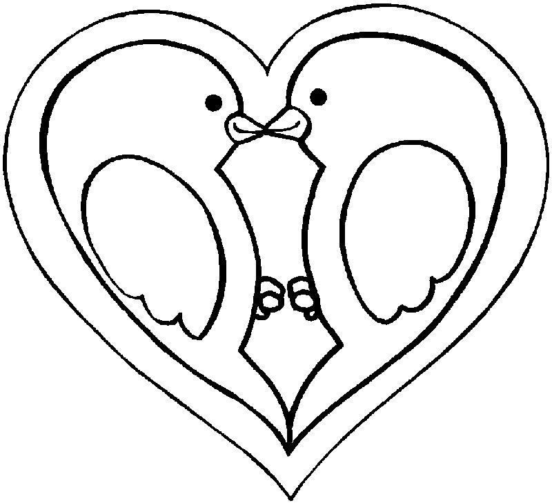 Desenho 15 De Dia Dos Namorados Para Colorir