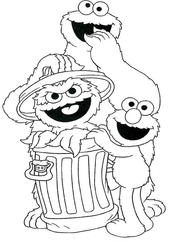 The Count of Sesame Street – Coloring Page | Northern News | 777x561