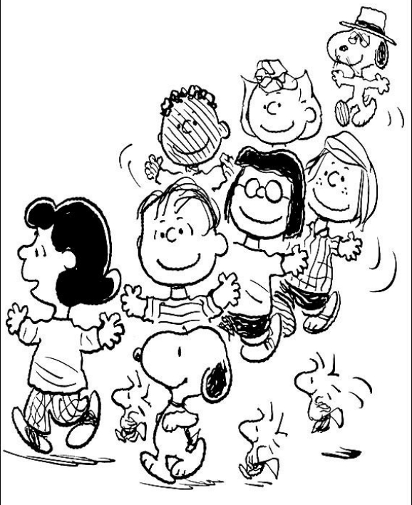 Snoopy coloring page - Drawing 6