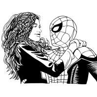 Dibujos De Spider Man Lejos De Casa Para Colorear