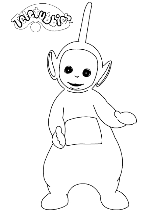 Free Teletubbies Coloring Book, Download Free Clip Art, Free Clip ... | 709x506