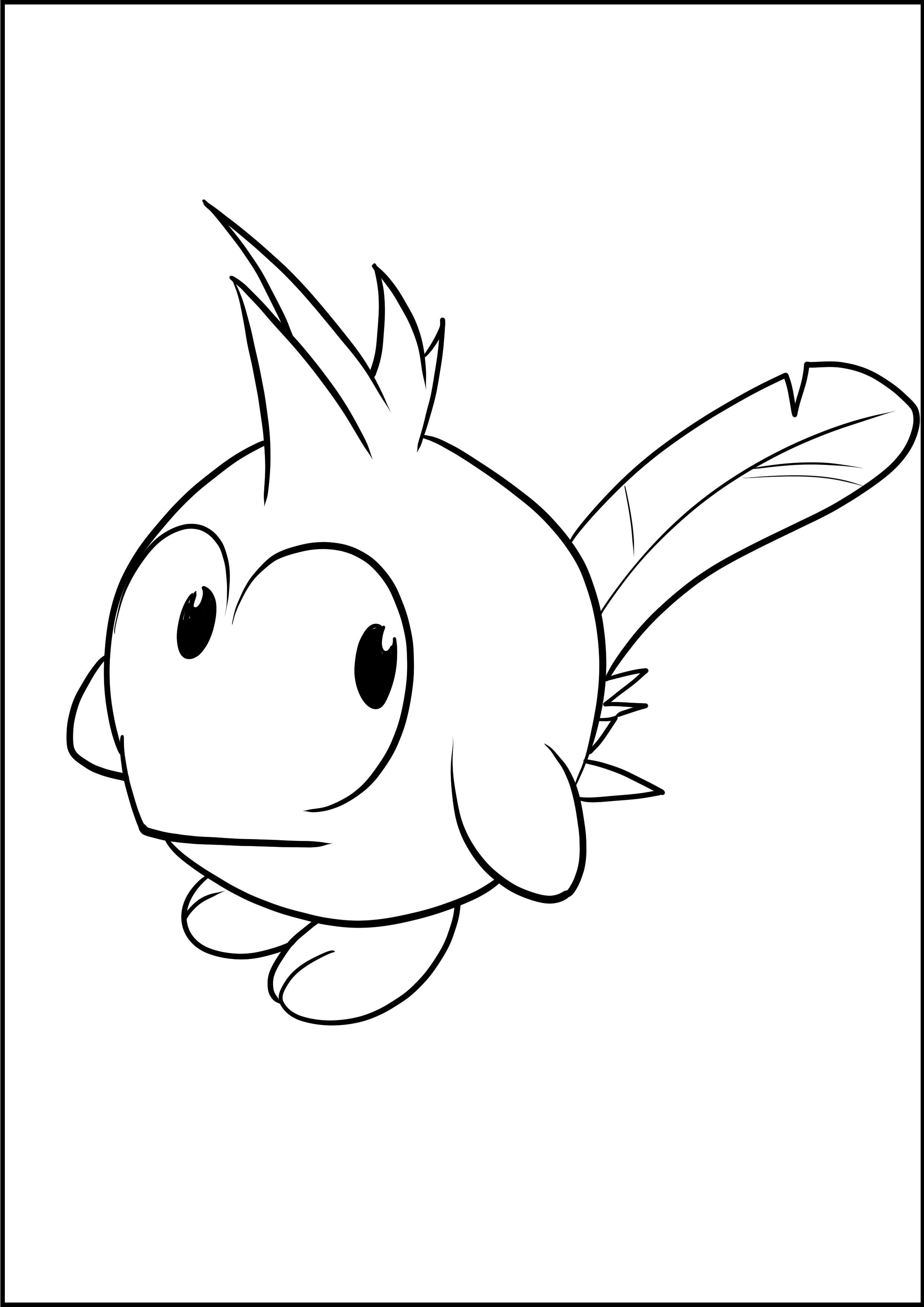 Desenho de Az de Wakfu para imprimir e colorir