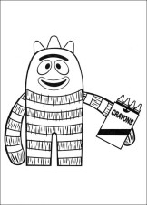 Yo Gabba Gabba! coloring pages on Coloring-Book.info | 227x162