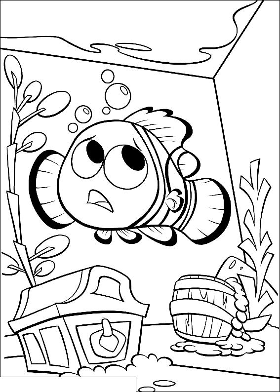 Dibujo 15 Buscando A Nemo Para Colorear