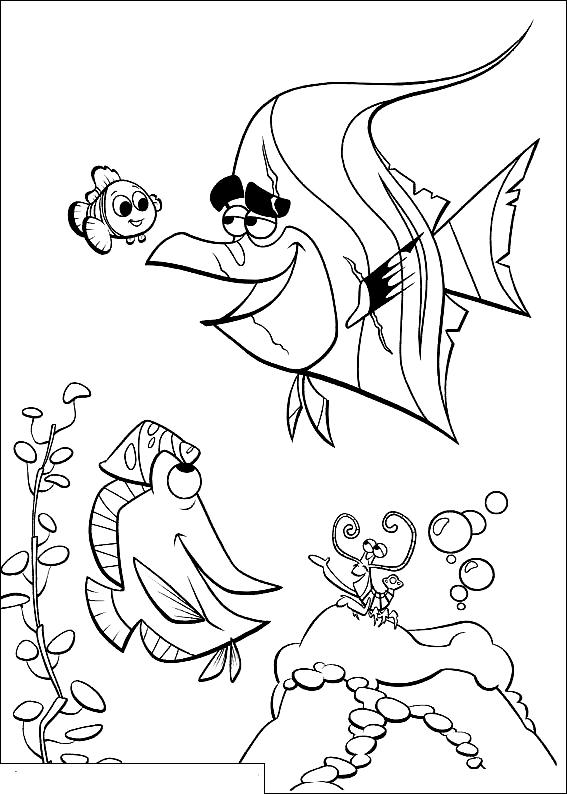 Ausmalbilder 23 Von Findet Nemo