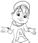 Disegni Di Alvin E I Chipmunks Da Colorare