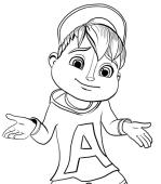 Disegni Di Alvin E I Chipmunks Da Colorare