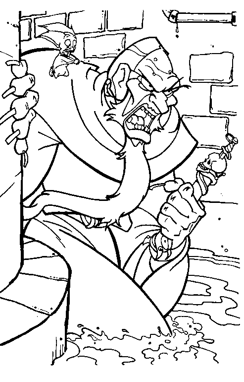 Drawing 7 from Anastasia coloring page to print and coloring