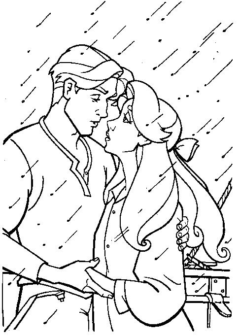 Dibujo 8 de Anastasia para imprimir y colorear